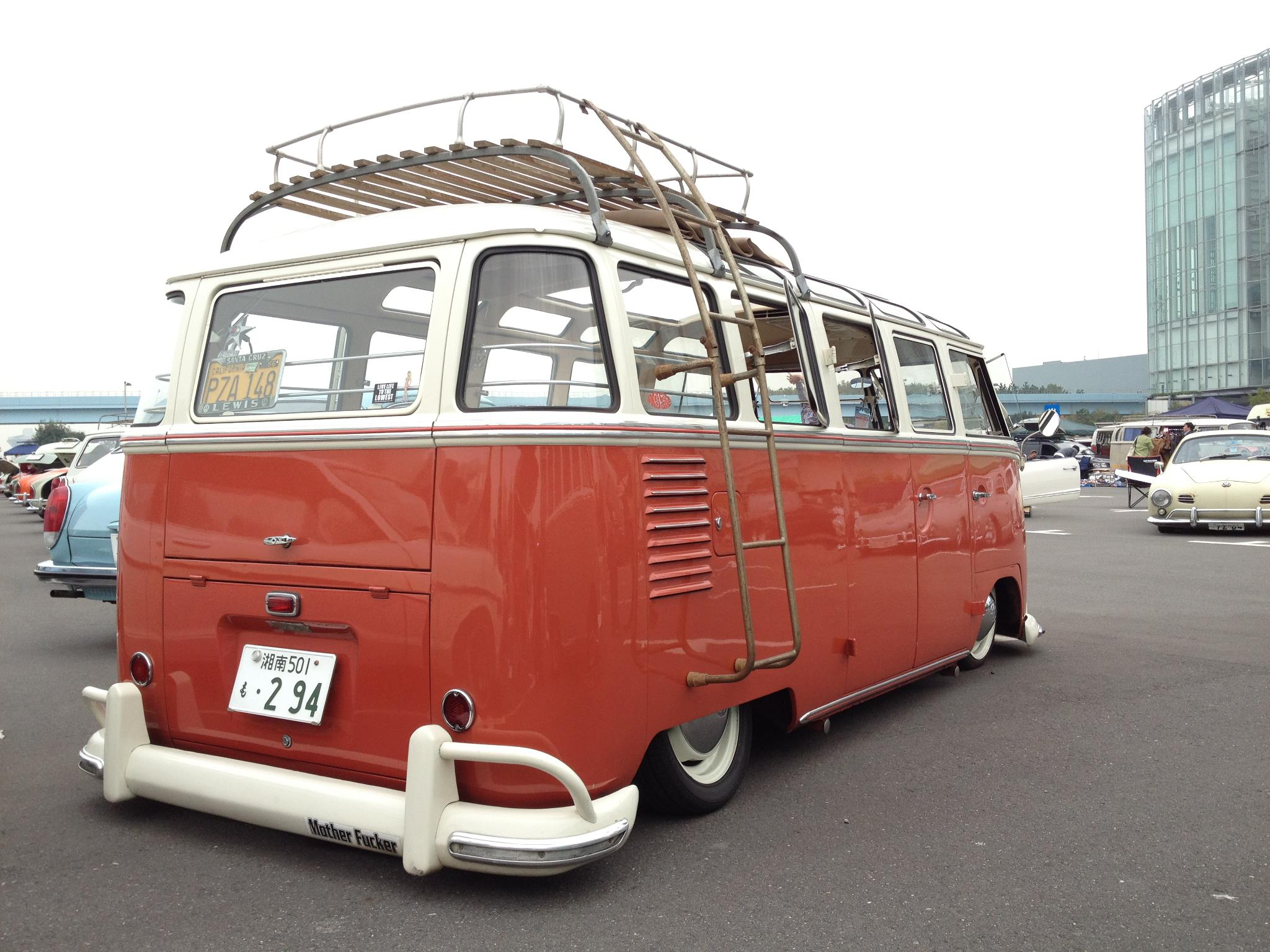 manabu suzuki s 1960 vw 23 window deluxe bus. Black Bedroom Furniture Sets. Home Design Ideas