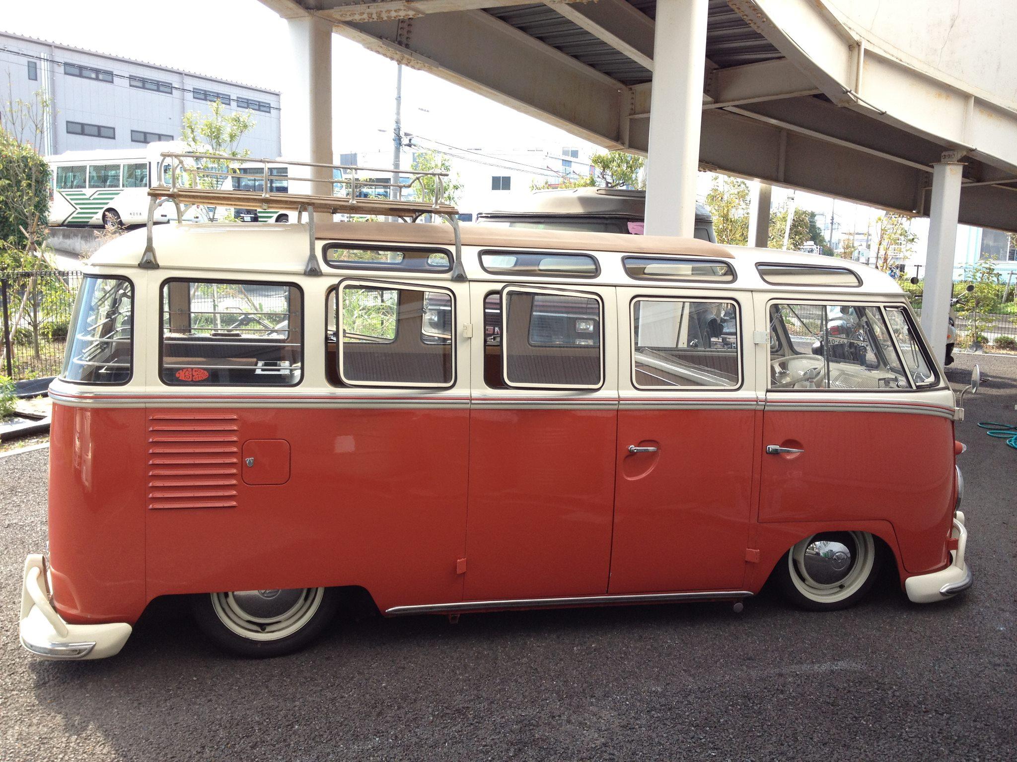 Samba for 14 window vw bus